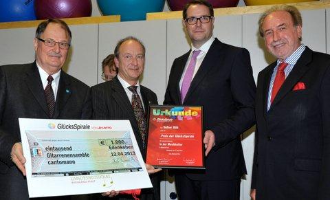 Volker H�h - Preis der Gl�cksSpirale